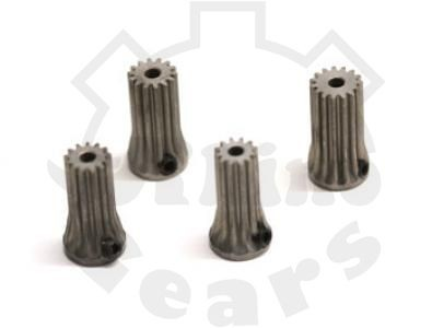 """""""Rhino Gear"""" Steel Pinions 0.6M (12, 13, 14, 15T) T-REX500"""