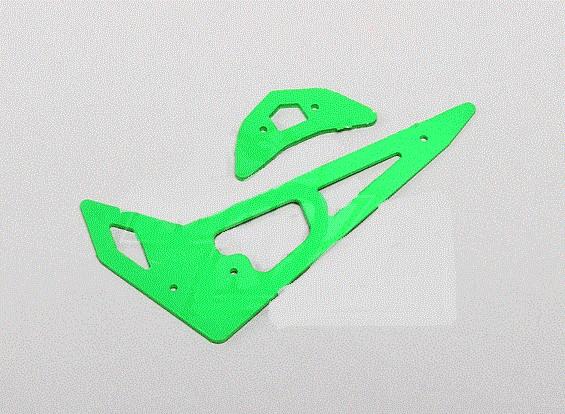 Neon Green Fiberglass Horizontal/Vertical Fins Trex 250