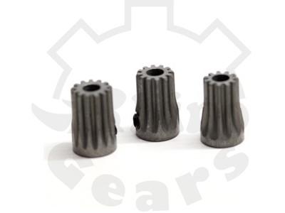 """Rhino Gear"" Steel Pinions 0.5M (11,12,13T) Combo – T-REX450/G5"