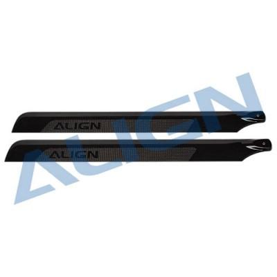 ALIGN 425D Carbon Fiber Blades HD420D – T-REX 500