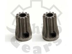 """""""Rhino Gear"""" Ultra Hardened Steel Pinions – 0.5M 11T – T-REX 450"""