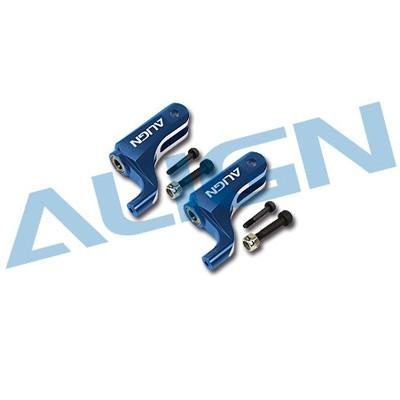 Align 450DFC Main Rotor Holder Set/Blue H45164QN [H45164QN]