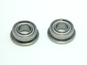 ABEC-3 Flange Bearings (2) 3x8x3F MF83ZZ