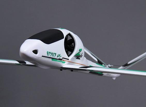 Avion RC Durafly Zephyr V-70 High Performance 70mm EDF V-Tail Glider 1533
