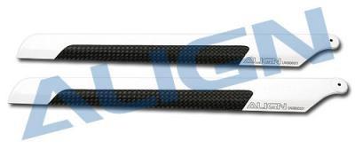 Align 205mm 205D Carbon Fiber Blades HD200B- T-REX 250