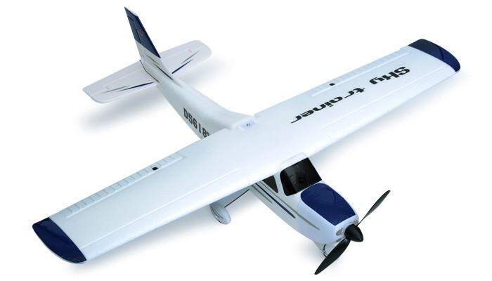 Avion RC Dynam 4-CH Sky Trainer 960MM Brushless Radio Remote Control Electric Training Plane 2.4G RTF