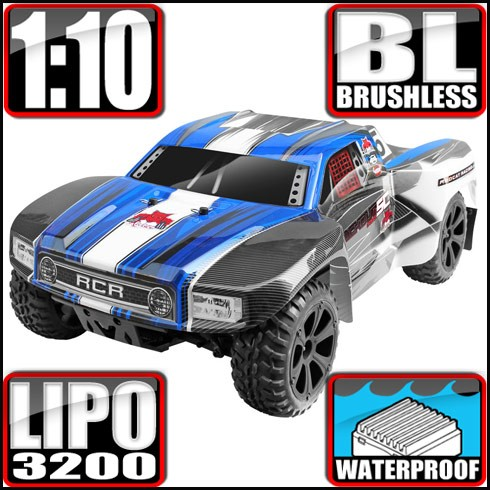 Carro a control remoto Blackout SC PRO 1/10 Scale Brushless Electric Short Course