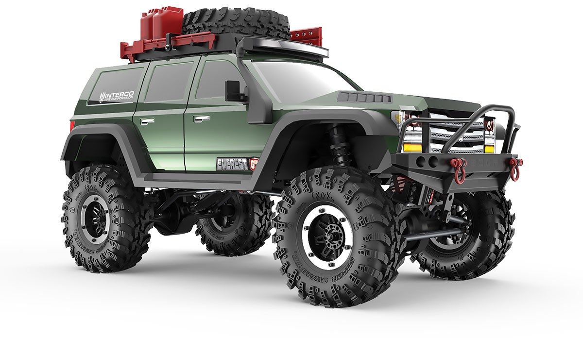 Carro a Control Remoto Redcat Racing Everest Gen7 Pro 1/10 4WD RTR Scale Rock Crawler
