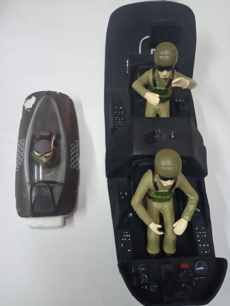 cabina de pilotos para modelos escala USADO