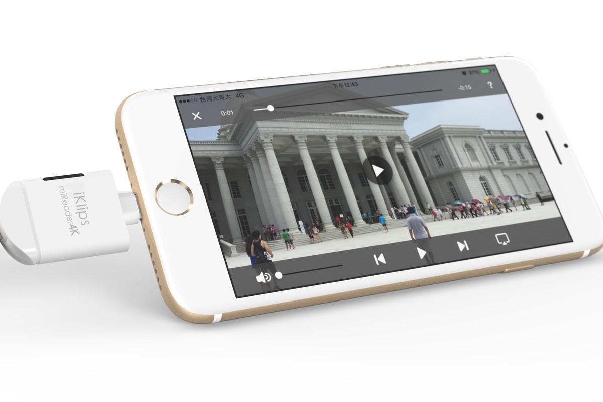 DJI Mavic Mini – ADAM Elements iKlips miReader 4K lector de tarjetas microSD